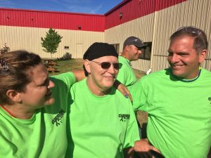 Currier employees raising awareness for lymphoma